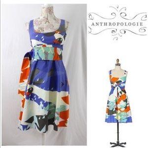 Marimekko for Anthropologie gamma gulls dress 4 S